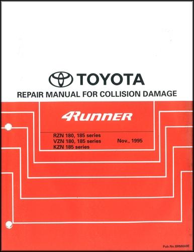 1996-2002 Toyota 4Runner Body Collision Repair Shop Manual Original