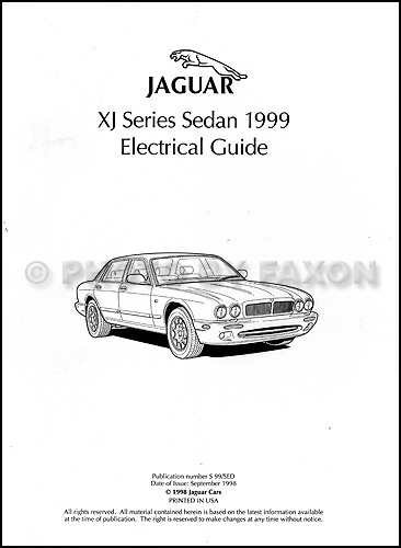 jaguar xj8 electrical diagram