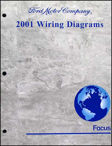 2001 Ford Focus Wiring Diagram Manual Original