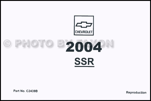 2004 ssr wiring diagram crf import wiring guide page chevrolet ssr