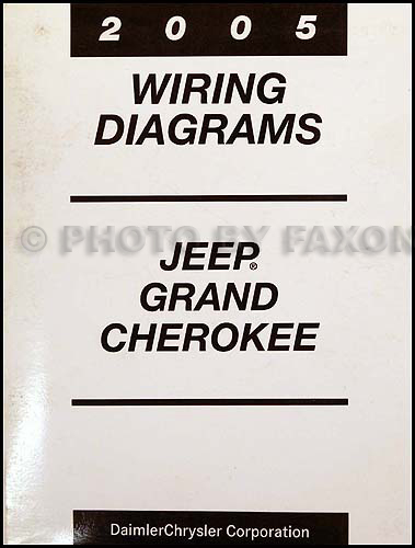 2005 Jeep Wiring Diagram Index listing of wiring diagrams