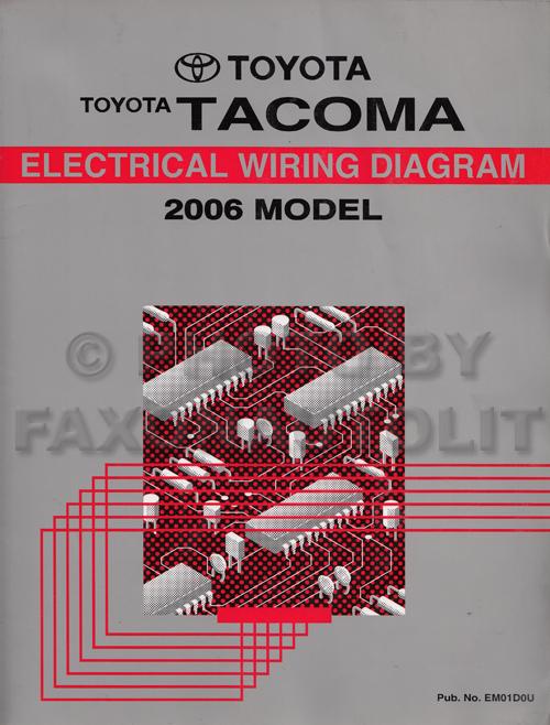 2006 Toyota Tacoma Electrical Diagram - Wiring Diagram \u2022