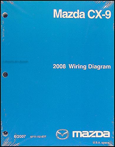 2008 Mazda CX-9 Wiring Diagram Original