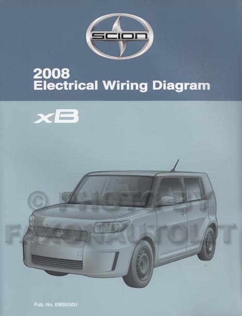 2006 Scion Xb Wiring Diagram Index listing of wiring diagrams