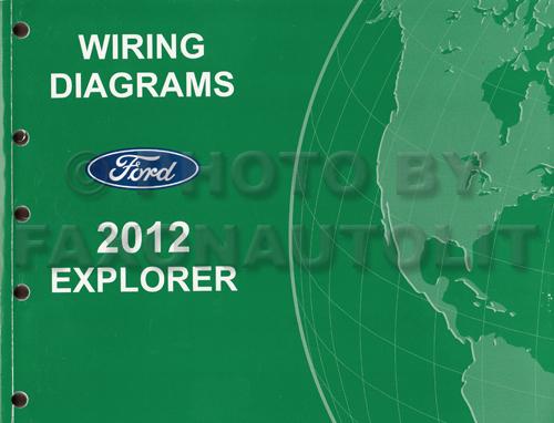 2012 Ford Explorer Wiring Diagram Manual Original