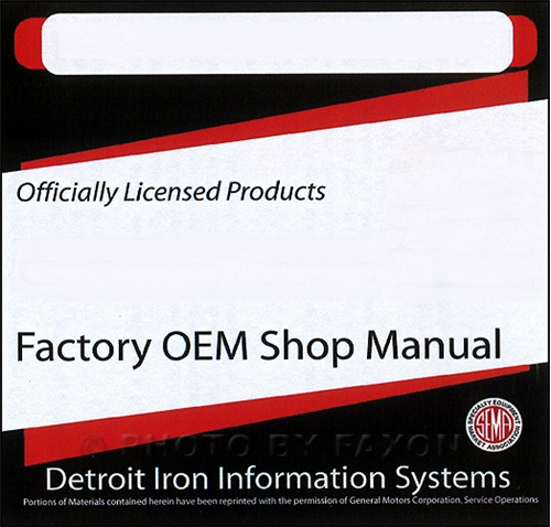 1966 Cadillac CD-ROM Repair Shop Manual, Body Manual  Parts Book
