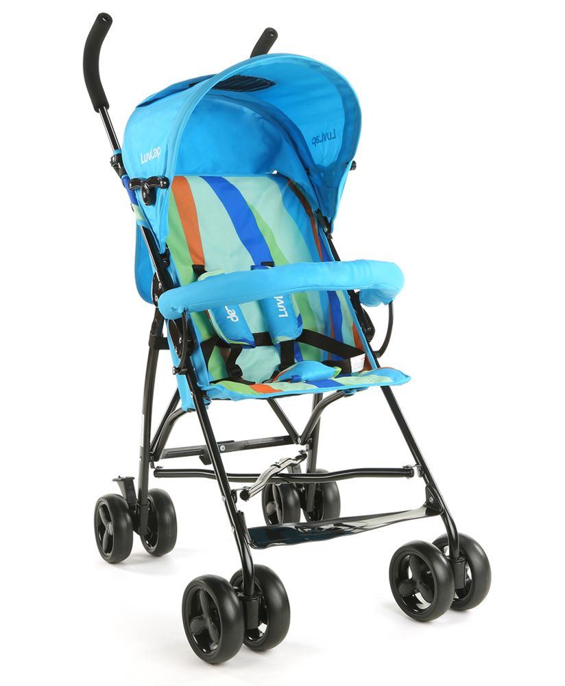 Buggy Stroller India Luvlap Tutti Frutti Baby Stroller Buggy Light Blue Online In