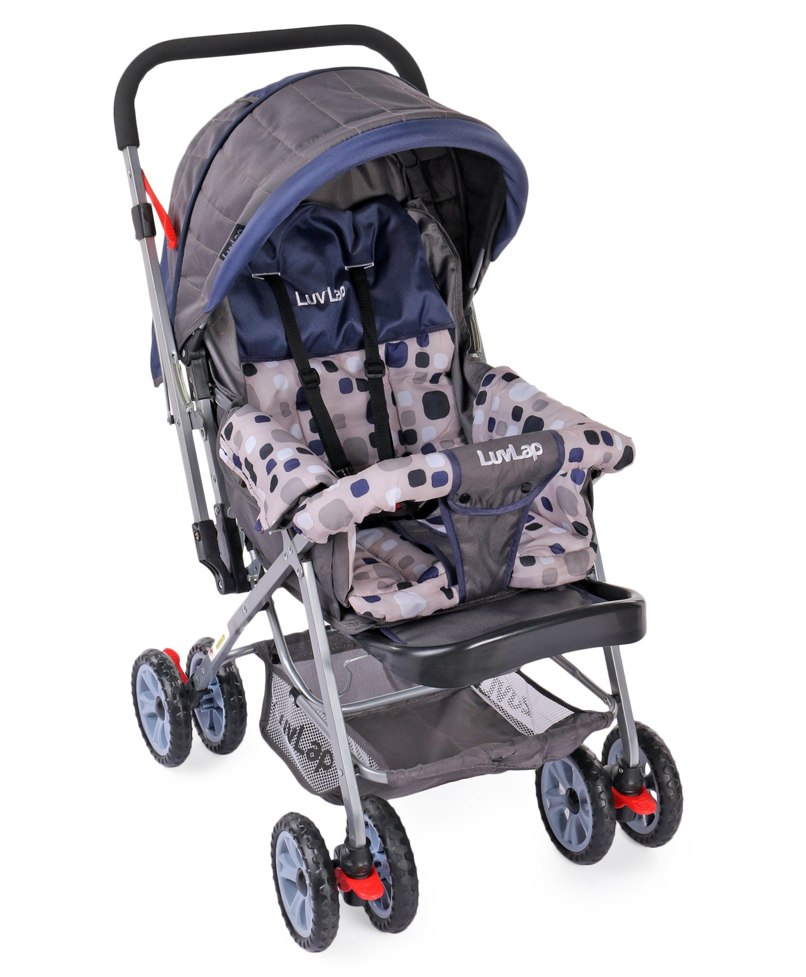 Pram Stroller India Luvlap Baby Stroller Pram Sunshine Navy Blue Online In India