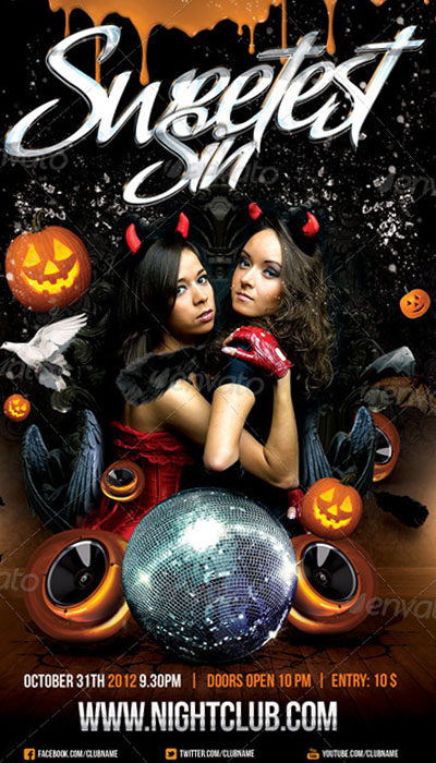 Halloween Costume Flyer  Srcu003du0027 7dias7nochesnet/ads