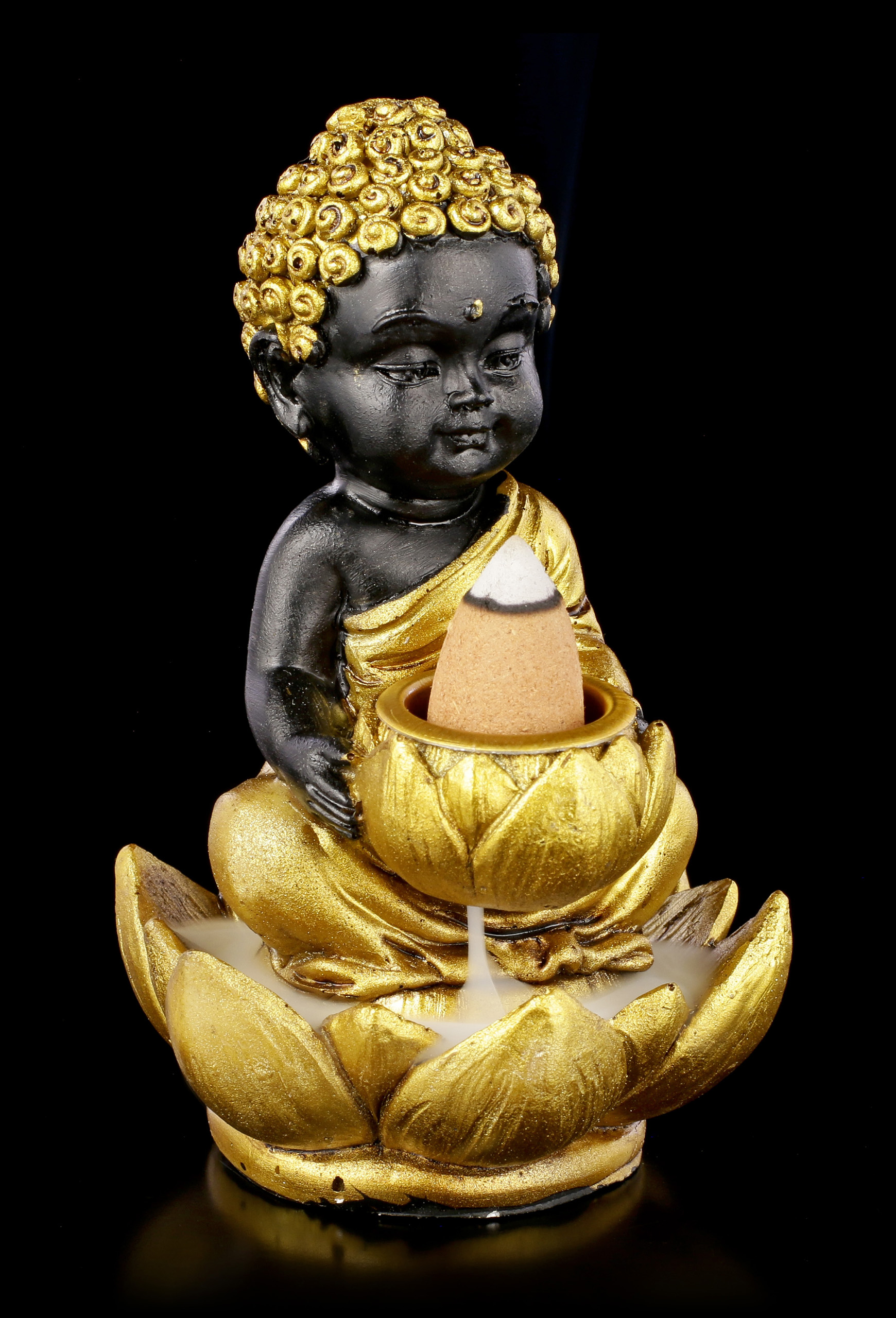 Buddha Für Den Garten Buddha Figurines Hand Painted Buy Online Figuren Shop De