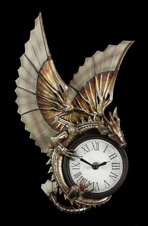 Medium Of Steampunk Wall Clock