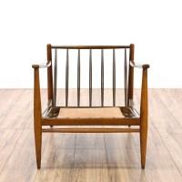 Mid Century Modern Accent Chair | Loveseat Vintage ...