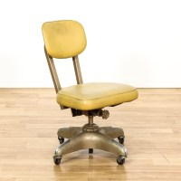 Mid Century Office Swivel Desk Chair | Loveseat Vintage ...
