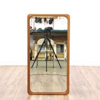 Mid Century Modern Curved Edge Mirror | Loveseat Vintage ...