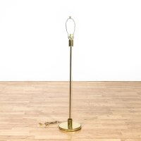 Brass and Glass Tube Floor Lamp | Loveseat Vintage ...