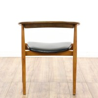 """""""AFM Japan"""" Mid Century Modern Curved Accent Chair ..."""