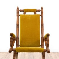 Victorian Eastlake Rocking Chair | Loveseat Vintage ...