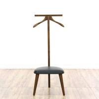 Mid Century Modern Butlers Valet Chair | Loveseat Vintage ...