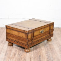 Old World Coffee Table Map Trunk | Loveseat Vintage ...