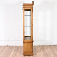Tall Curio Cabinet w/ Shelves   Loveseat Vintage Furniture ...