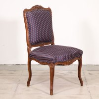Antique Carved Purple Victorian Chair | Loveseat Vintage ...