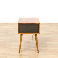 Mid Century Modern Speaker Box End Table | Loveseat ...