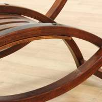 Bentwood & Glass Coffee Table | Loveseat Vintage Furniture ...