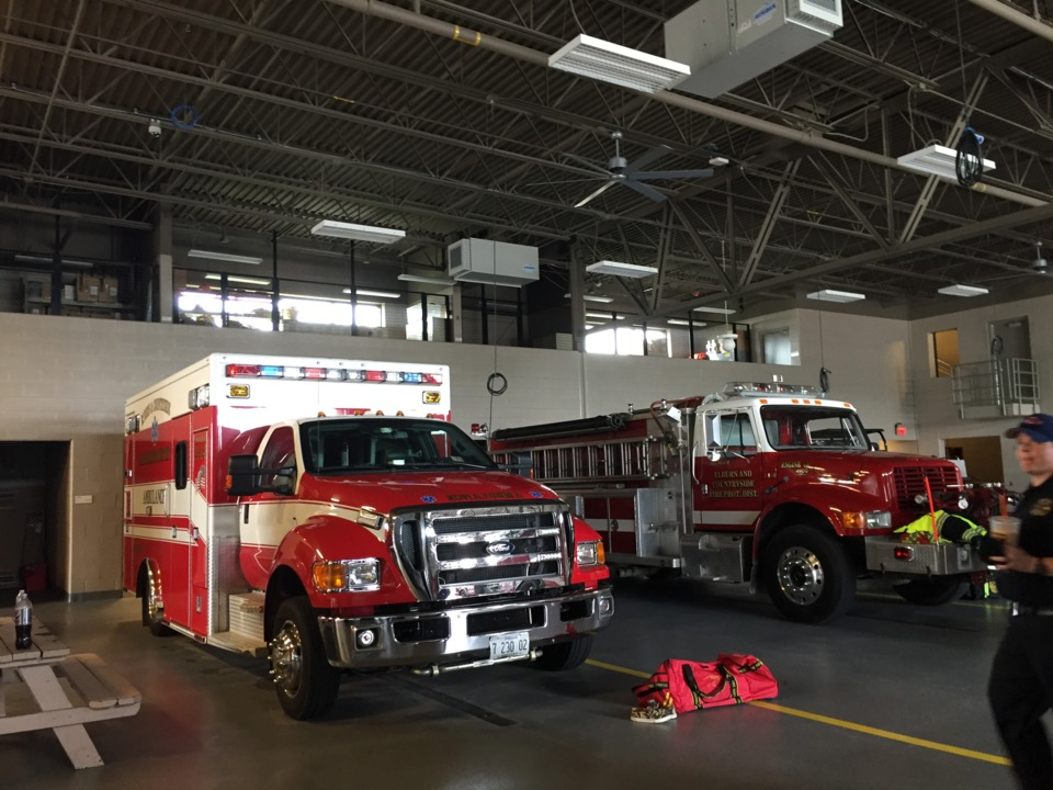 Combination Firehouse Designed For Effectiveness Living