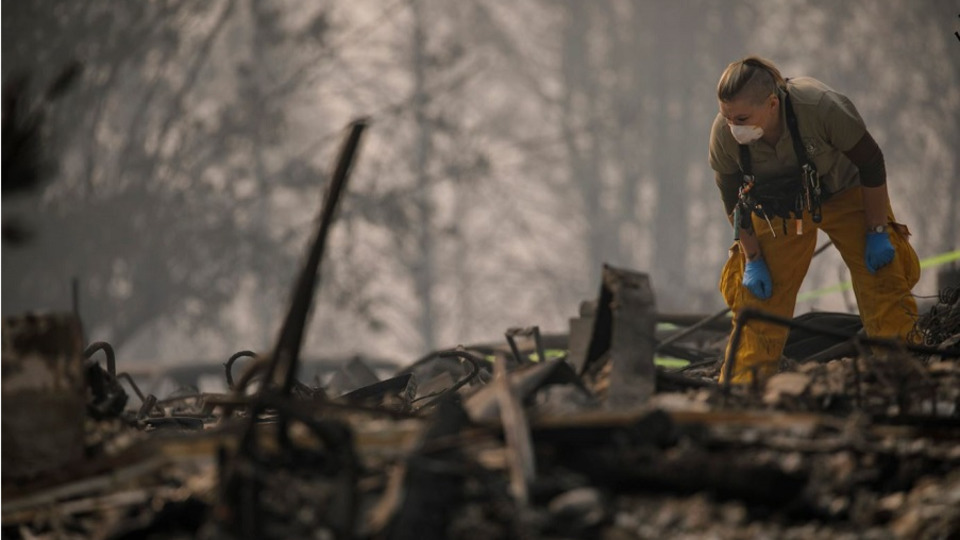 Camp Fire Butte County Paradise Ca Death Toll 71 Trump