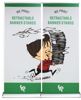Retractable Banners / Pull-Up Banners / Banner Stands