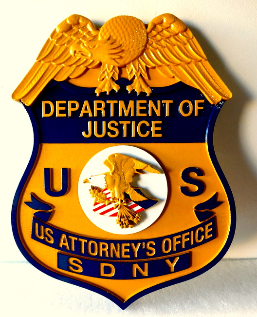 County, City, Court, Police, Sheriff, Fire Department Seal Wall Plaques