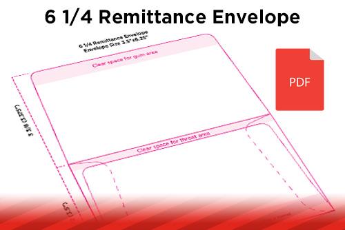 Designing for Print Remittance Envelopes