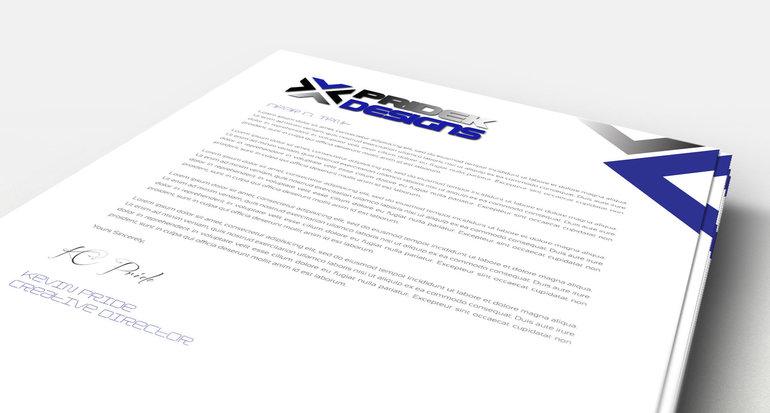 Letterhead Printing  Design Print Shop Denver C  D Printing
