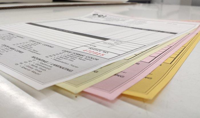 Business Forms Printing Print Shop Denver C  D Printing
