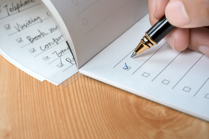Fundraising Creating a Checklist to Plan Your Events - creating checklist