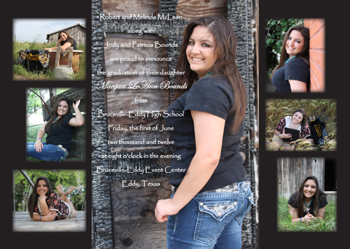 Custom Graduation Invitations - graduation photo invitations