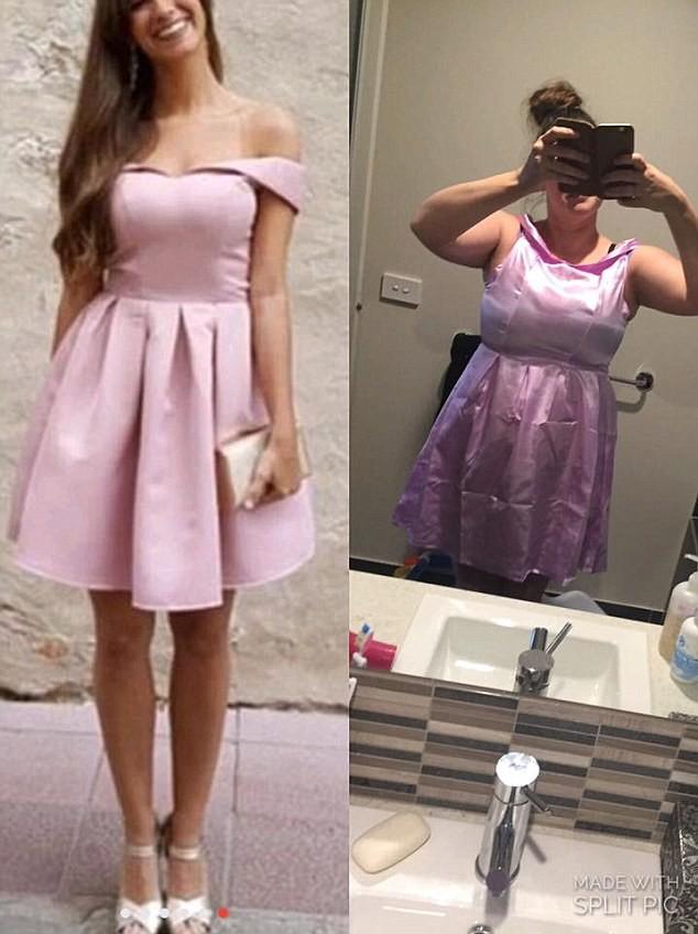 Покупка платья в интернете: ожидание и реальность ожидание и реальность, платье