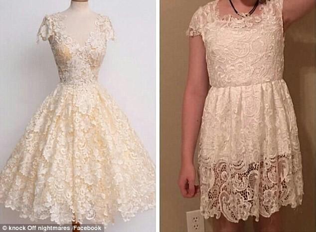 Еще более страшная ошибка - покупка свадебного платья в интернете  ожидание и реальность, платье