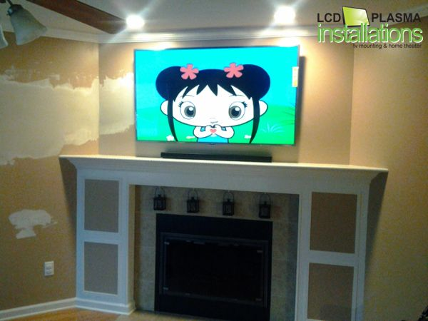 Home Theater Electrical Wiring Lcd And Plasma Tv Installation