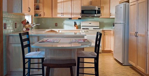 Kitchen Island With Seating On Both Sides Kitchen Island Vs Peninsula - Pros, Cons, Comparisons And