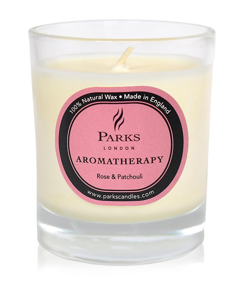 Parks London Duftkerze Parks London Aromatherapy Rose & Patchouli Duftkerze ...