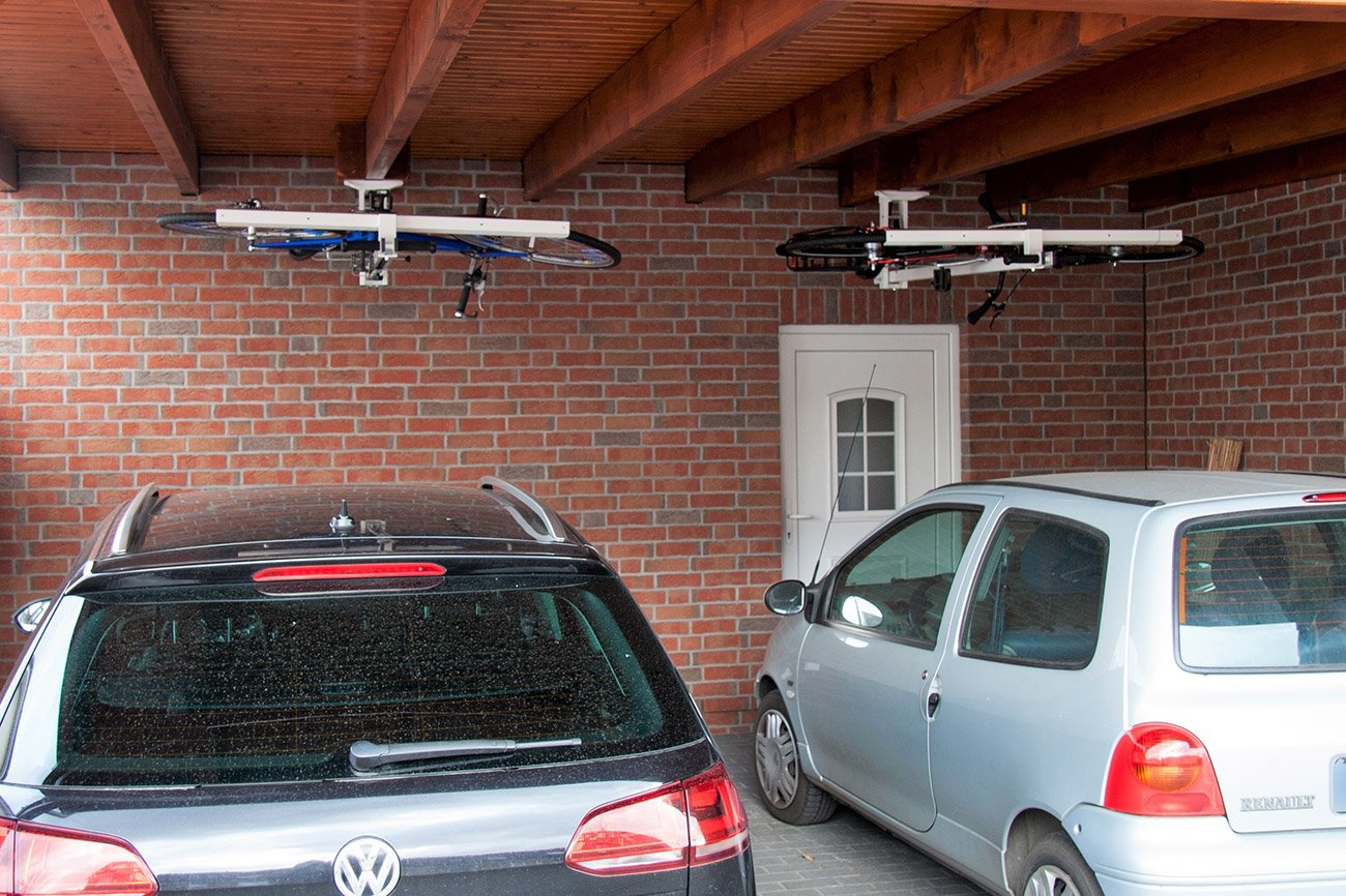Car Lift To Basement Garage Ceiling Bike Lift For Garages Hallways Basements Flat Bike Lift