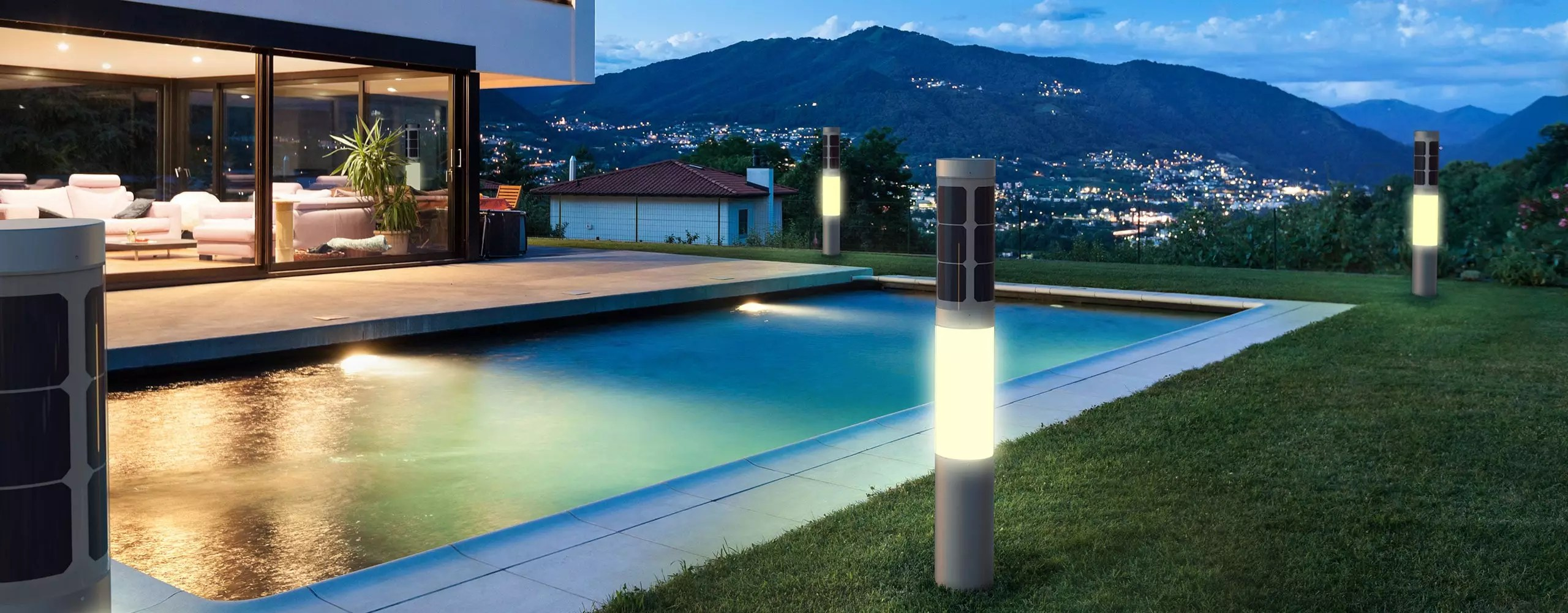 Illuminazione Giardino Solare Solar Outdoor Lighting Nxt Solar Lamp Flexsol Solutions