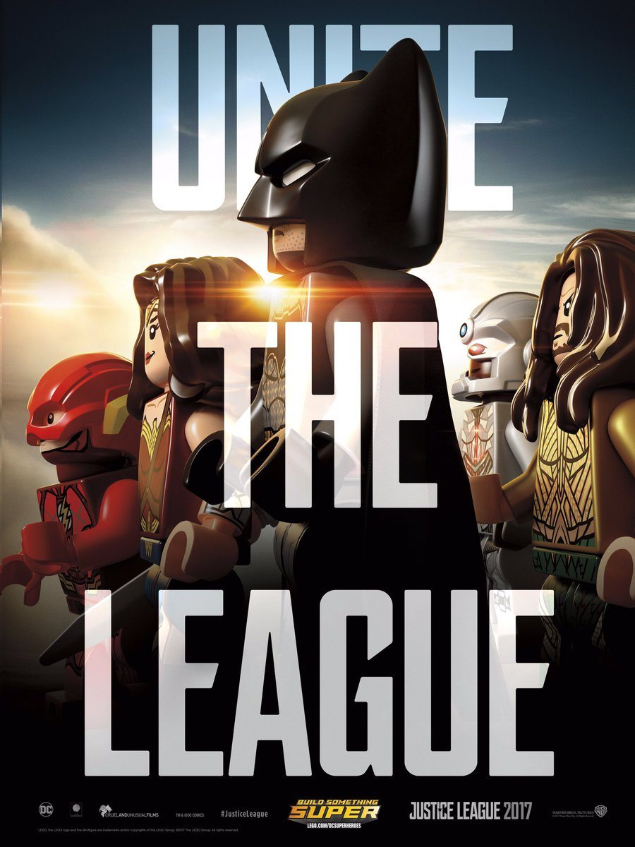Justice League Hd Wallpaper Justice League Movie Poster Gets The Lego Treatment