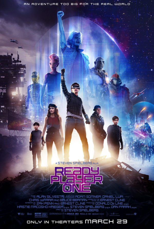 Ready Player One gets yet another poster - poster on line