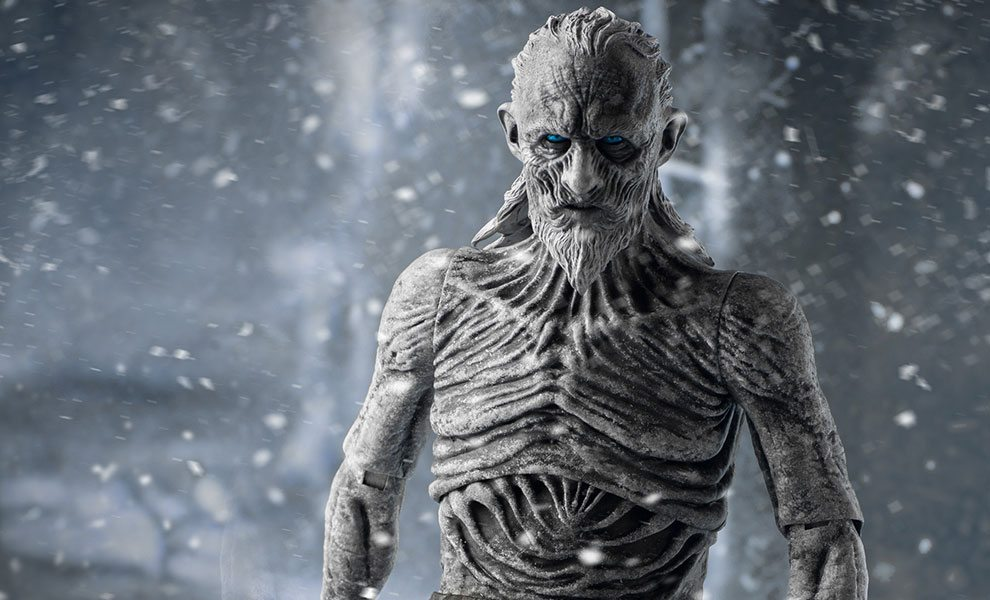 3d Removable Wallpaper Winter Is Coming With Threezero S White Walker Game Of