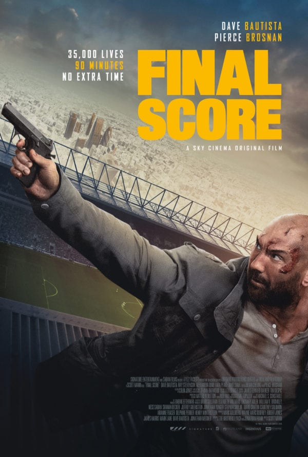 Movie Review - Final Score (2018) Flickering Myth