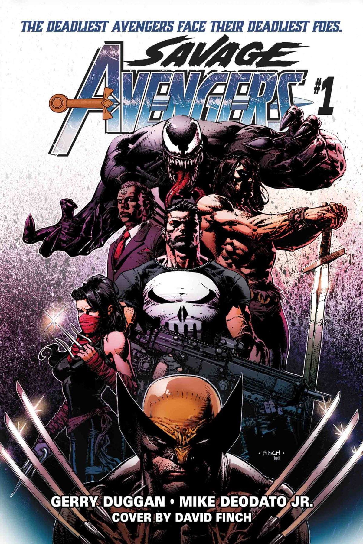 Japn Girl Sword Wallpaper Conan To Team With Venom Punisher Wolverine And Elektra