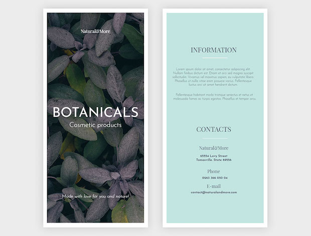 Pamphlet design ideas, examples and tips