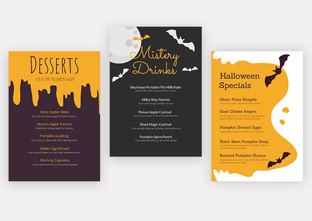 Free Halloween flyer templates